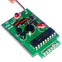 High Power FSK Transmiter With Encoder 433mHZ