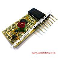 315Mhz Fixed Code Receiver Module with Decoder